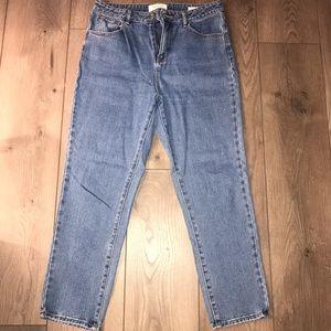 PacSun Dark Blue Mom Jeans